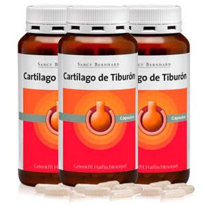 capsulas de cartilago de tiburon